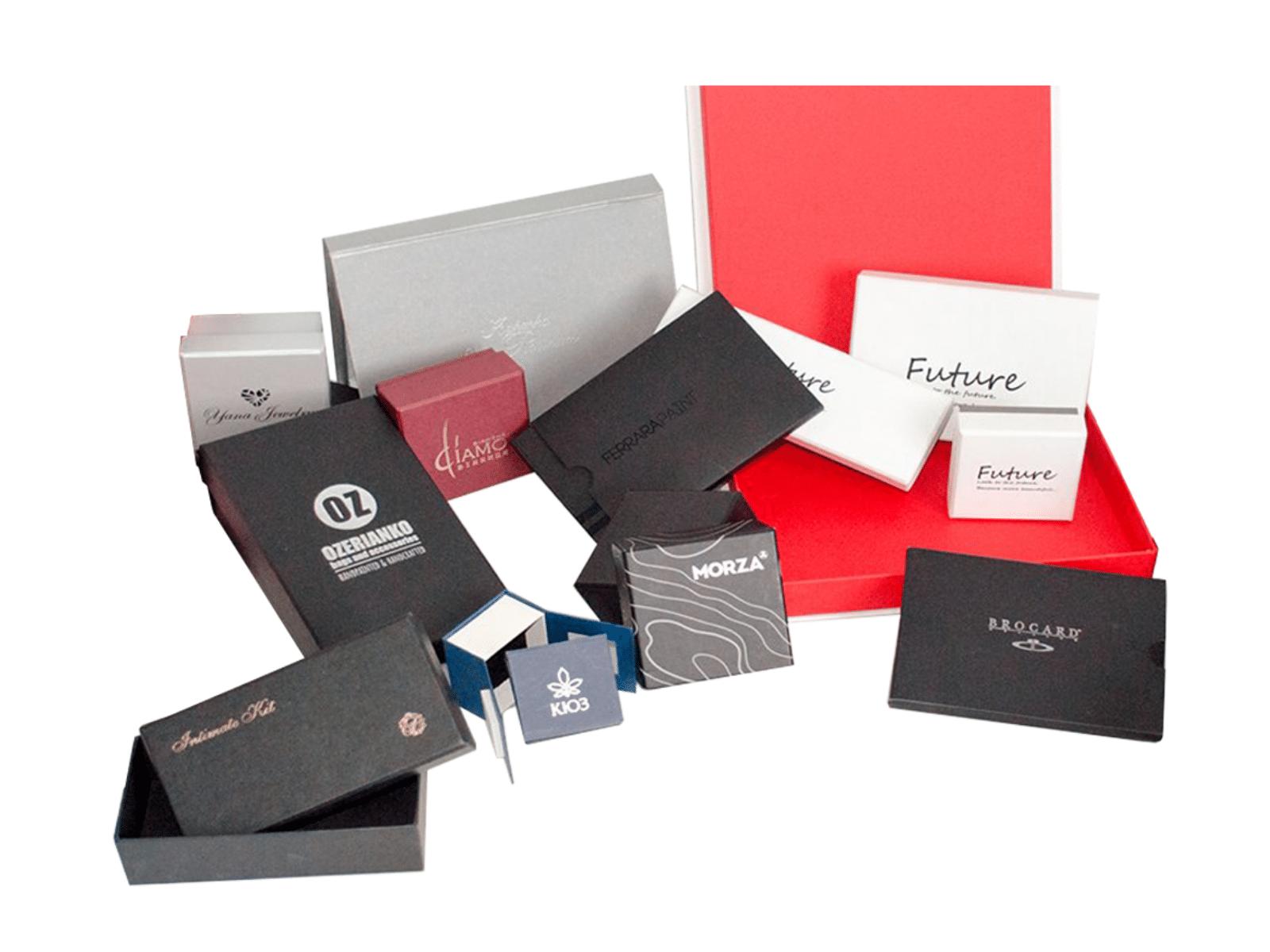 коробки с логотипом компании. Изготовление коробок с логотипом