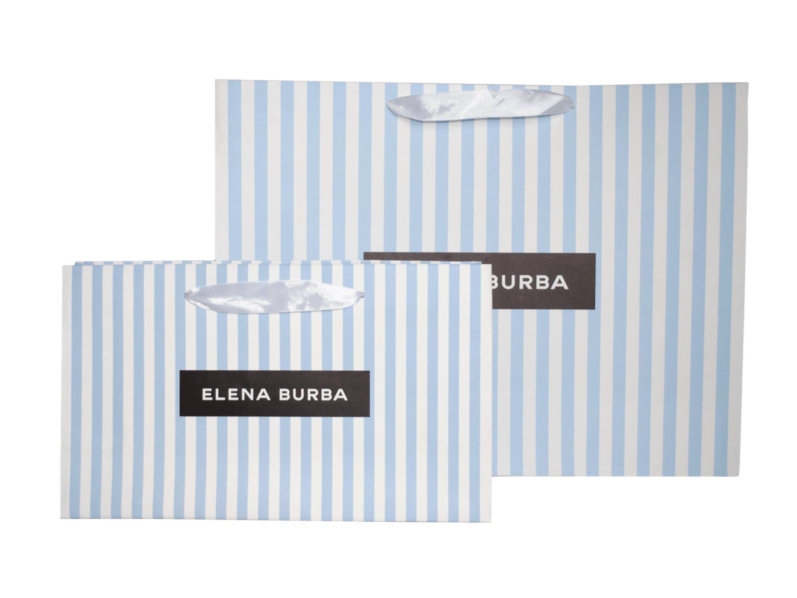 пакет для одежды с логотипом