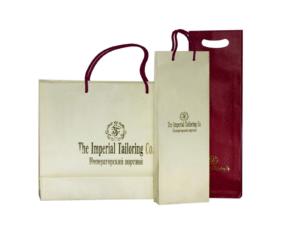 пакеты с логотипом для одежды