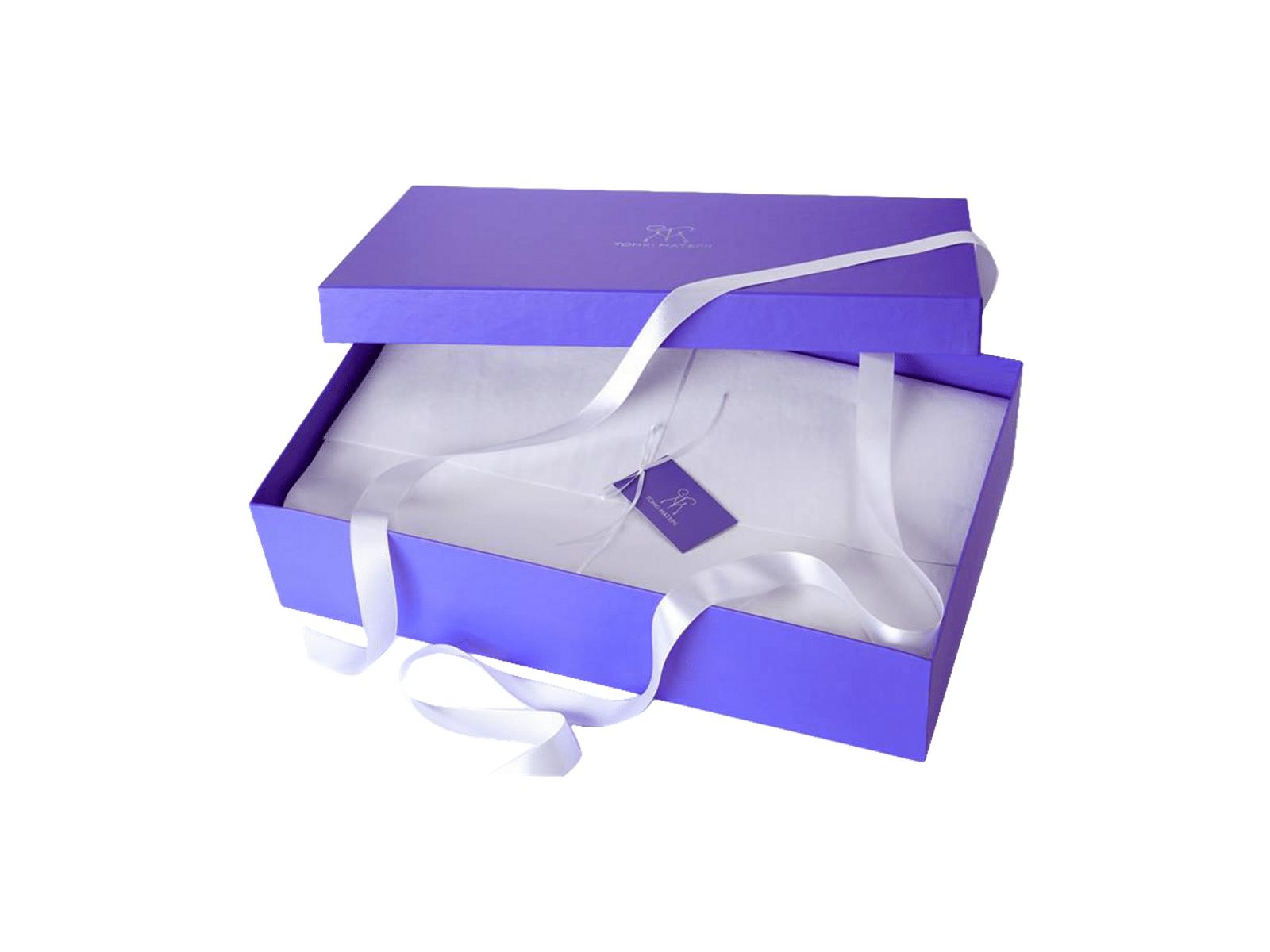 Подарочная коробка с печатью