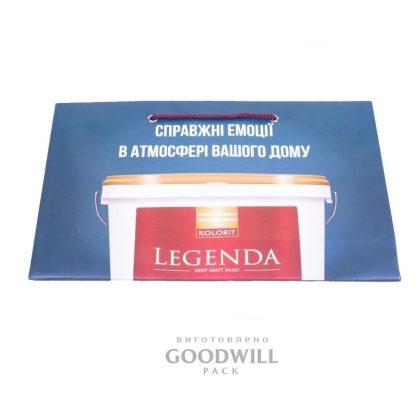 Буиажный пакет с логотипом фото