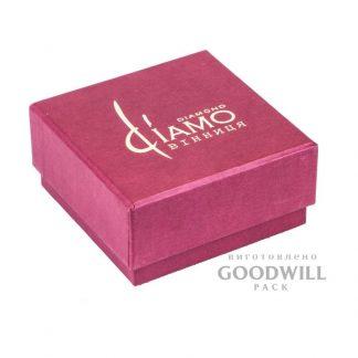 Коробка дизайнерский картон с тиснением для украшений фото