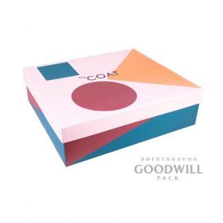 """Коробка для одежды """"The Coat"""" с логотипом фото"""
