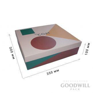 Коробка для одежды с печатью