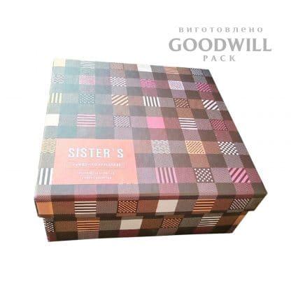 Коробка для одягу із переплетеного картону - Коробка для одежды из переплётного картона