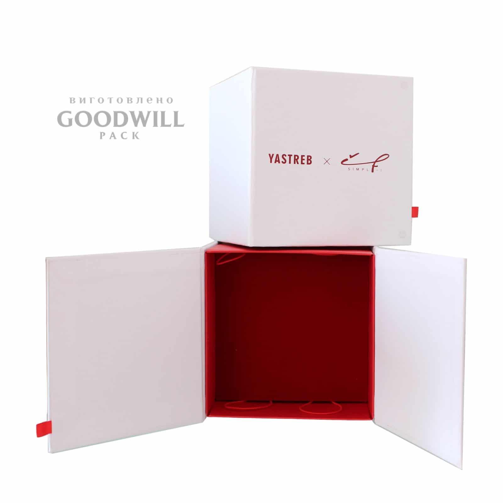 Коробка для украшений с логотипом