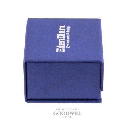 Коробка для украшений с магнитной лентой вид сбоку