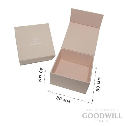 Коробка для ювелирных украшений на магнитной ленте
