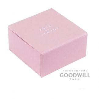 Коробка для ювелирных украшений с логотипом фото