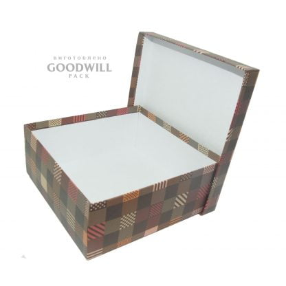 Коробка из картона для одежды для магазина