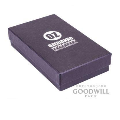 Коробка из переплетного картона для ювелирных украшений фото