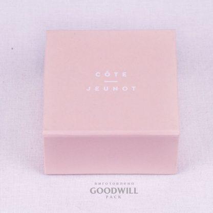 Коробка изготовленная по индивидуальному заказу для ювелирного бренда Lena Yastreb COTE & JEUNOT