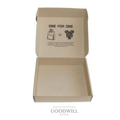 Коробка микрогофрокартон с печатью