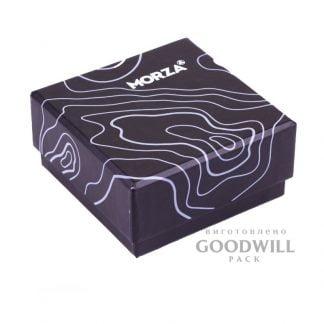Коробка с печатью на мелованной бумаге для браслетов с логотипом фото