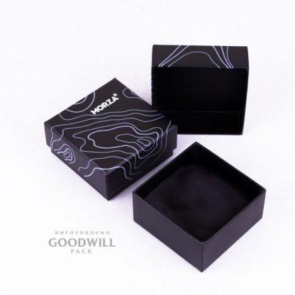 Коробки с печатью на мелованной бумаге для ювелирных украшений