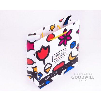 Пакет, изготовленный по индивидуальному заказу для бренда детской одежды Miracle Me