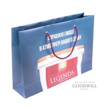 Пакет, изготовленный по индивидуальному заказу для компании «ФарбиКолорит»