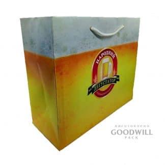 Пакет паперовий з друком