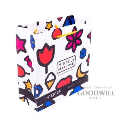 Пакет с логотипом для детской одежды