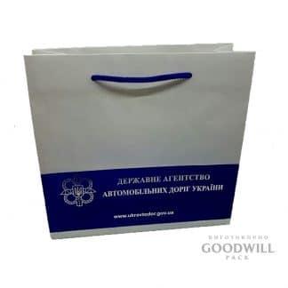 Пакет з друком логотипу