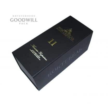Коробка для вина з палітурного картону