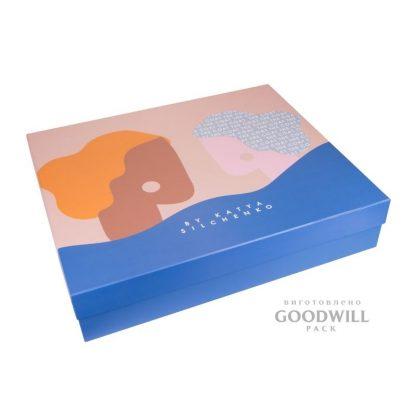 Основа коробки переплётный картон. внешняя обработка мелованная бумага фото