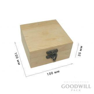 Дерев'яна коробка шкатулка подарункова - Деревянная коробка шкатулка подарочная