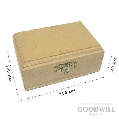 Коробка шкатулка з дерева на замовлення