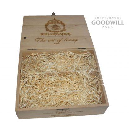 Ложемент в деревянной коробке