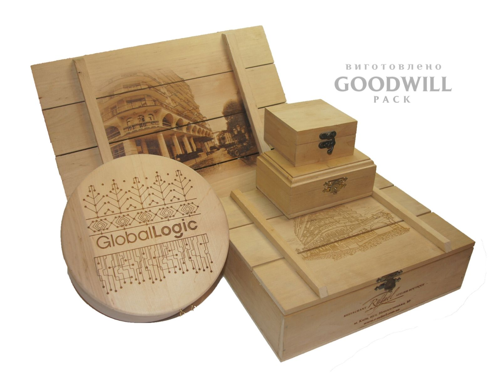 Деревянные коробки на заказ