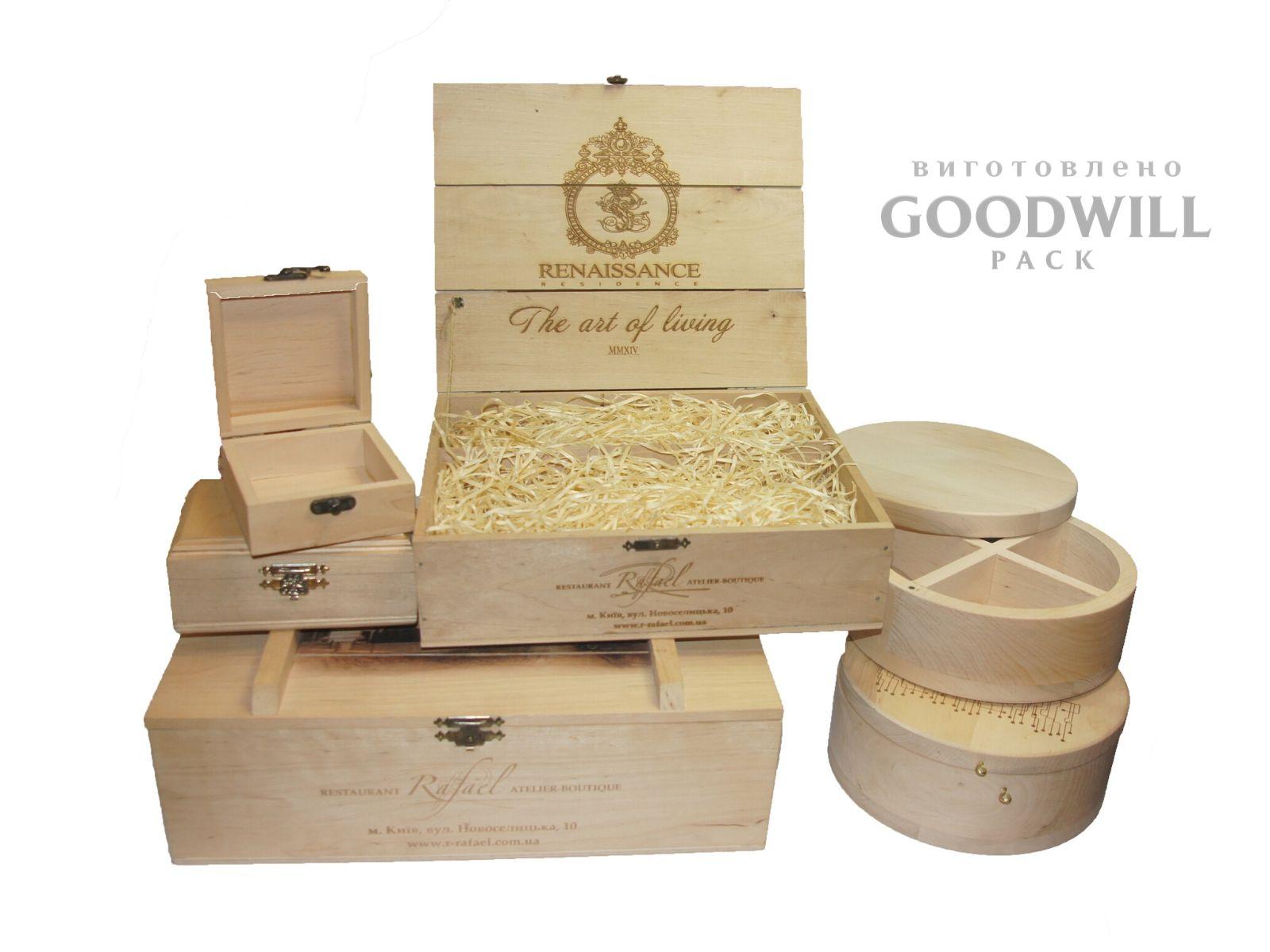 Изготовление коробок из дерева