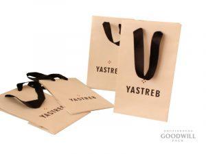 пакеты с печатью логотипа по индивидуальному заказу