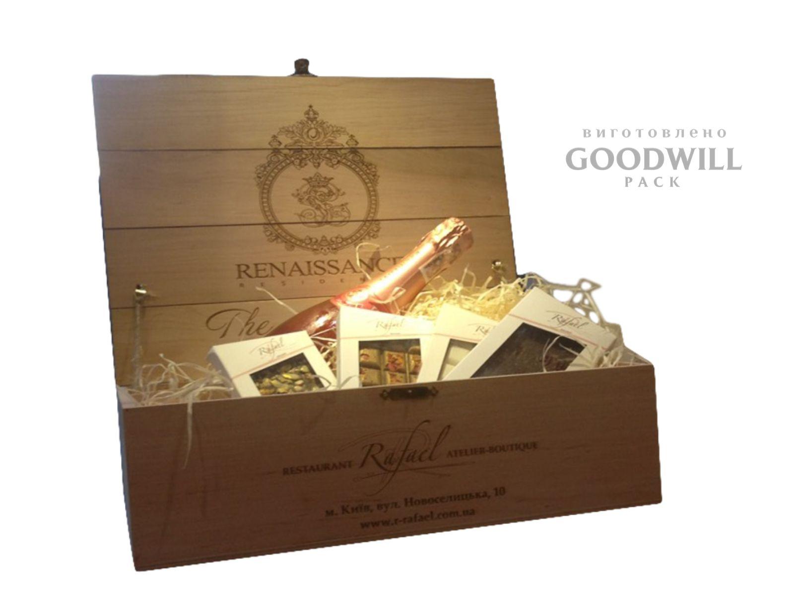 Подарункова упаковка для вина