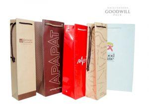 Фирменная упаковка для алкоголя с печатью