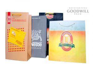 Фирменные пакеты на заказ с логотипом
