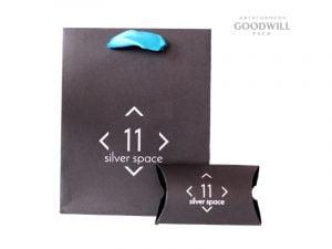 Пакет и коробочка для украшений с печатью по индивидуальному заказу