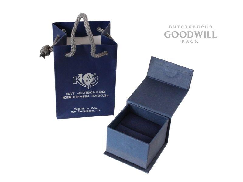 Брендована упаковка для ювелірних прикрас