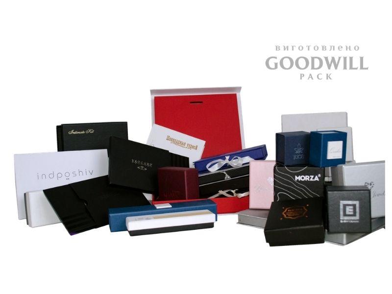 Брендовані коробки на замовлення з логотипом