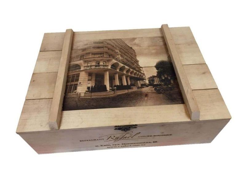 Дерев'яні коробки