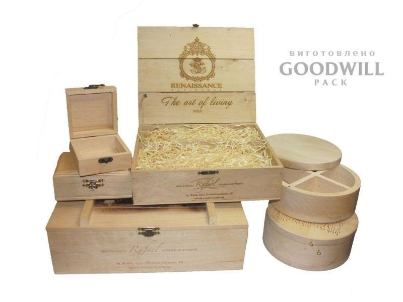 Виготовлення дерев'яних шкатулок на замовлення