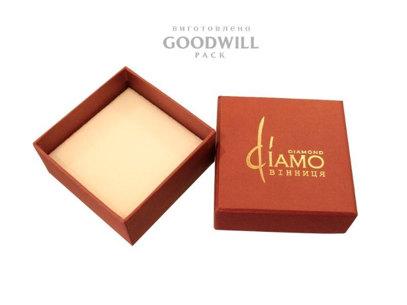 Коробочки брендовані для прикрас з ложементом