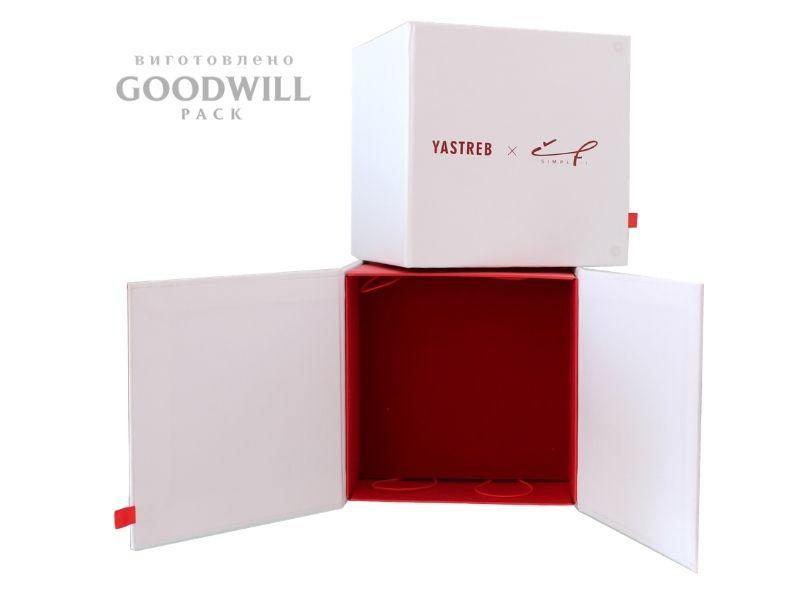 Виробництво упаковки з логотипом бренду