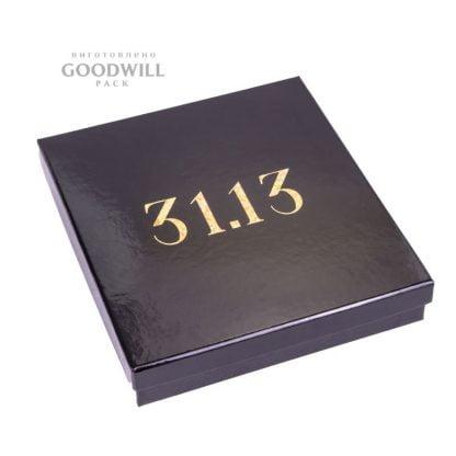 Брендована коробка для ювелірних прикрас фото