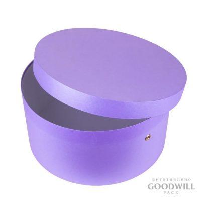 Форма круглой коробки крышка + дно