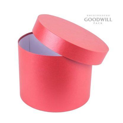 Фото круглая картонная коробка для паски
