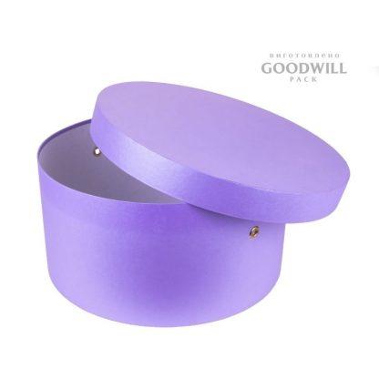 Коробка кругла шляпна подарункова фото