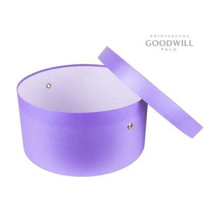 Коробка круглая, изготовленная по индивидуальному заказу