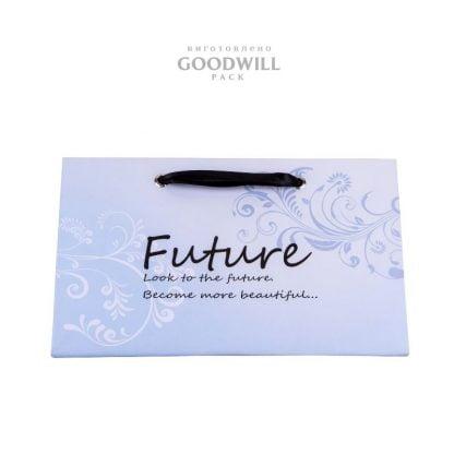 Пакет для ювелирных украшений с печатью логотипа