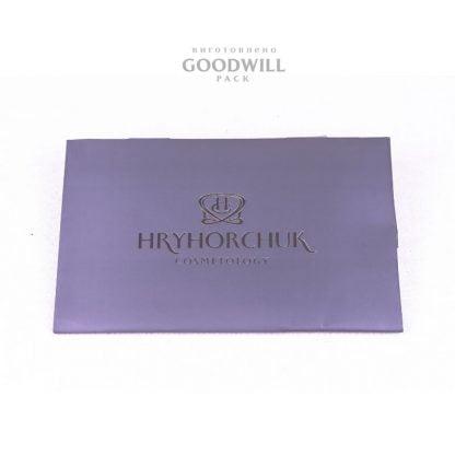 Высечной пакет из мелованный бумаги, изготовленный по индивидуальному заказу инновационной косметологии