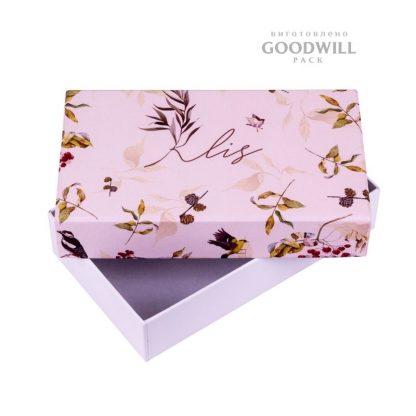 Коробка брендированная для женских аксессуаров фото